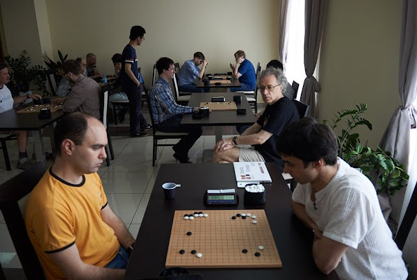 Final games of Russian team Go championship.jpg