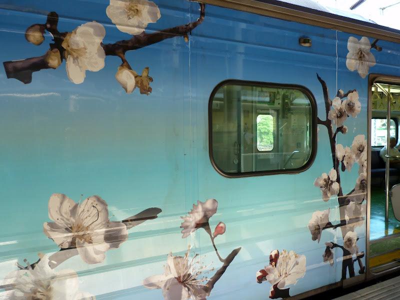 superbe décoration de certains trains