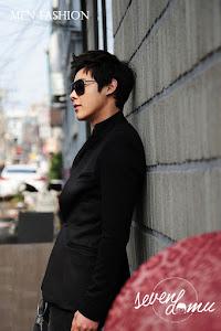 seven domu blazer+korea+black+style+bk02