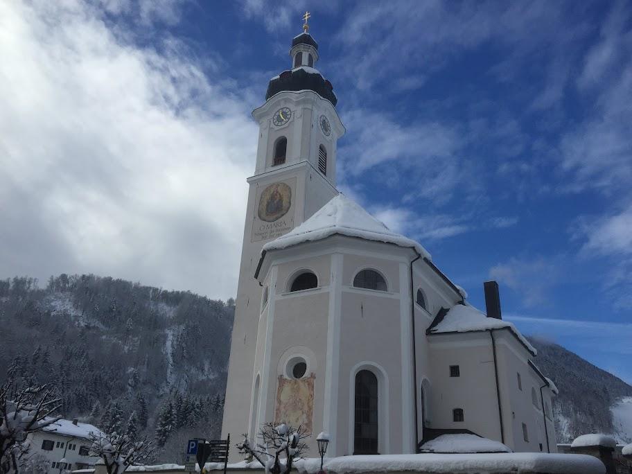 Die Kirche in Oberaudorf