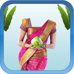 Wedding Saree Photo Suit apk