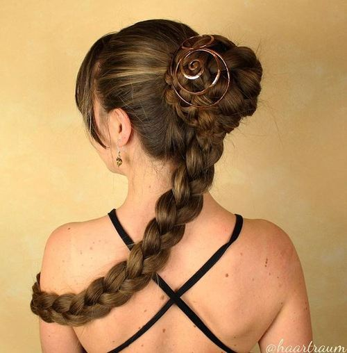 The Trendy Bun Hairstyles For Casual And Formal In Current Year 2017 11