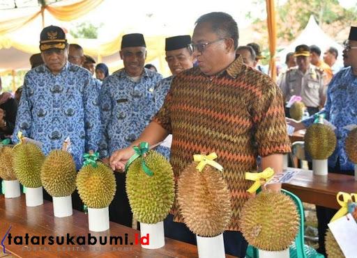 Tidak Kalah Dengan Durian Luar Negeri, Bupati Janjikan Festival Tahunan Durian di Sukabumi