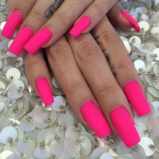 Inspirational Pink Matte Nail Designs 2017 Styles Styles Art