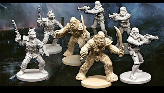 miniaturas de la wave 3 Imperial Assault y sus expansiones