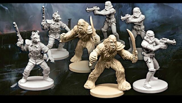 miniaturas de la wave 3 Imperial Assault y sus expansiones