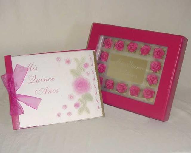 Libro de firmas rosa