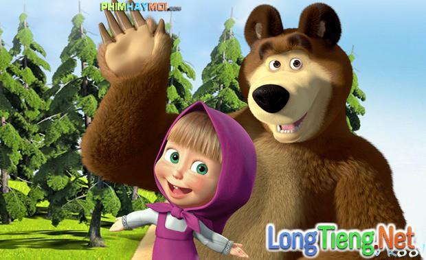 Xem Phim Cô Bé Tinh Nghịch Và Chú Gấu Bụng Bự 1 - Masha And The Bear Season 1 - phimtm.com - Ảnh 1