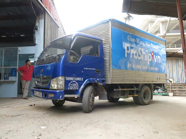 Dịch vụ thuê xe tải Proship