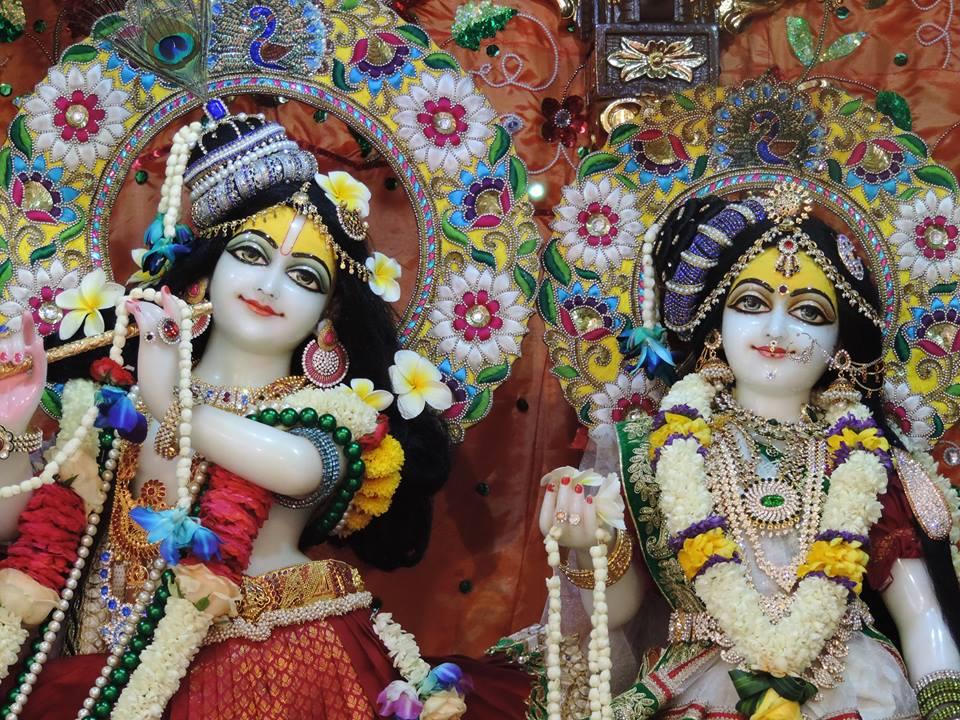 ISKCON Bangalore Deity Darshan 29 May 2016 (3)