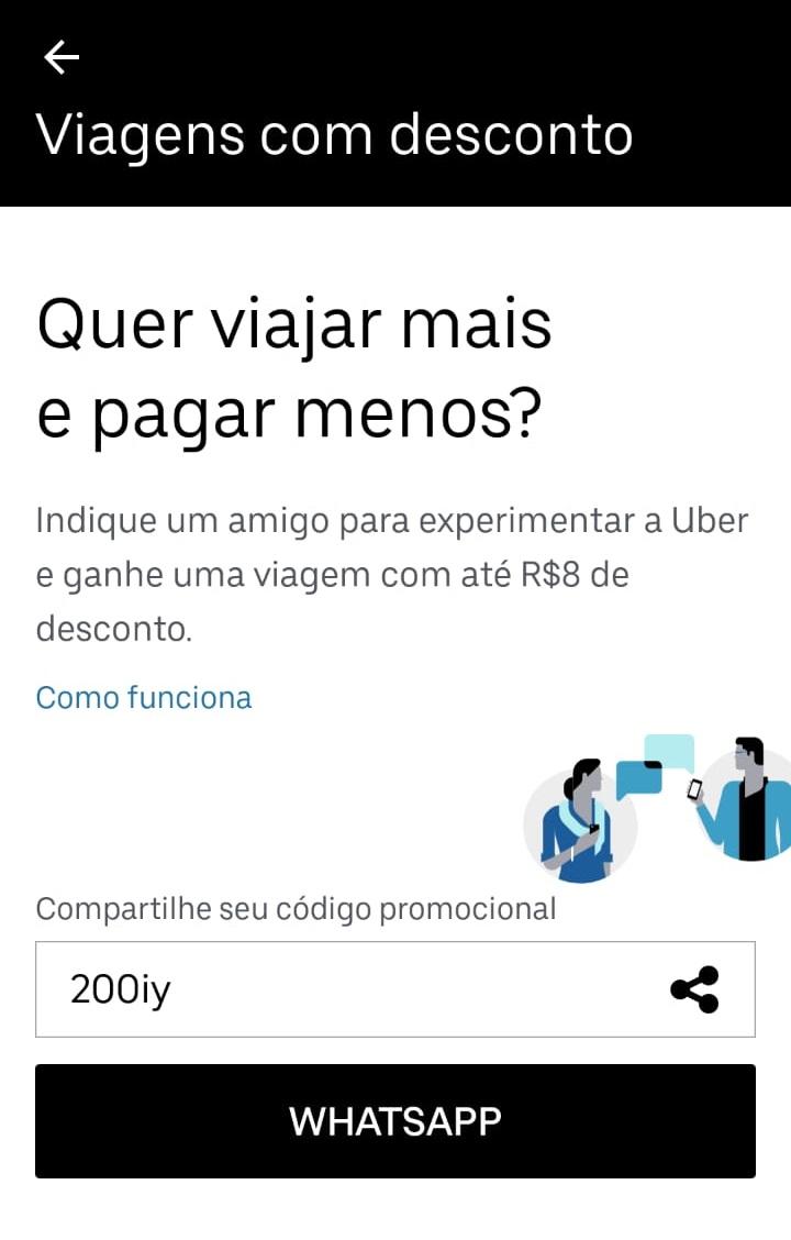 indicações uber
