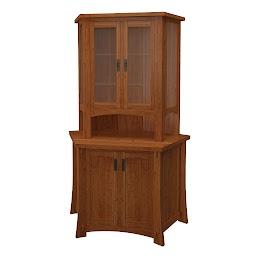 seville corner cabinet