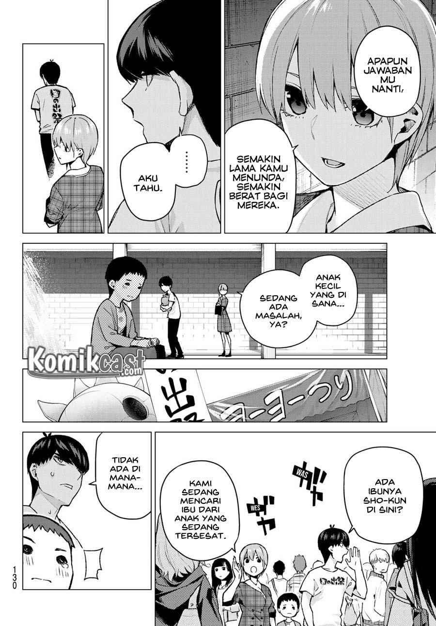 Go-toubun no Hanayome: Chapter 101 - Page 9