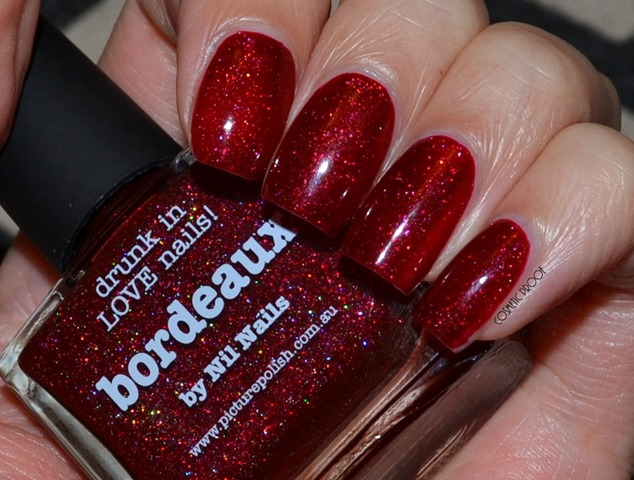 NAILS | New Bloggers Collaborations from Picture Polish! First Up is Bordeaux by Nil Nails!