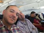 On our flight to Miami