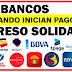 ¿Por qué los bancos no pagan los giros pendientes de la Ingreso  solidario ?