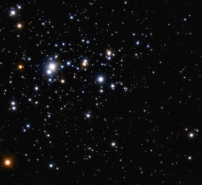 aglomerado aberto de estrelas Trumpler 14