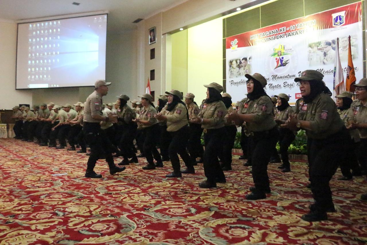 Hut Ke 14 Tagana Berikan Satunan Kursi Roda Hingga Alat Bantu Dengar Jakarta Uang Tunai Kepada Anak Yatim Seragam Sekolah Tas Dan Makanan Kecil Ini Semua Atas Kerjasama Kementerian Sosial Dinas Dki