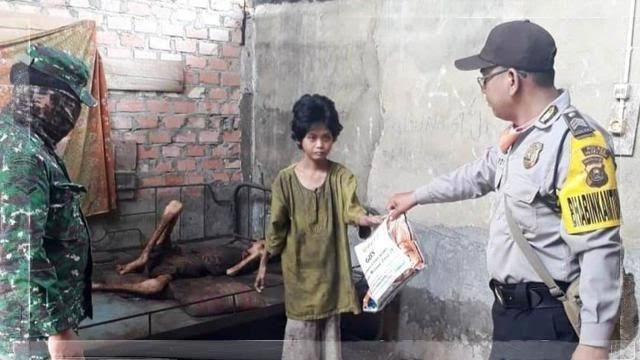 Kisah Derita Kelaparan di Tengah Pandemi Covid 19