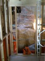 Digging Completed» Stairwell Being Installed