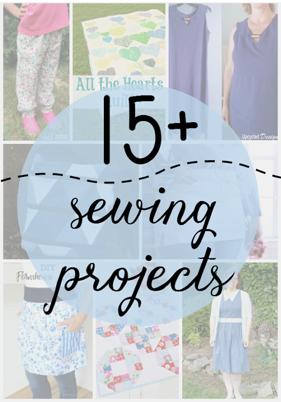 15 Sewing Projects at GingerSnapCrafts.com
