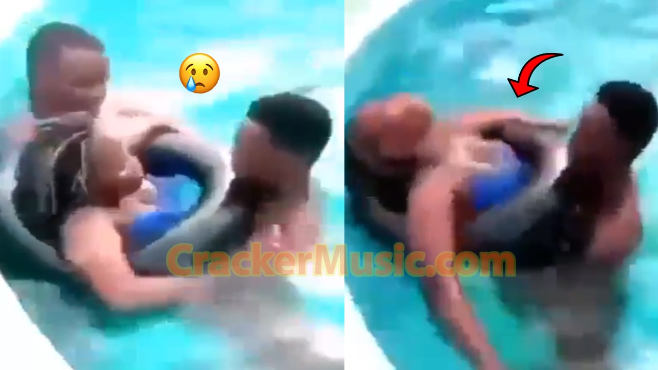 Two Guys Ch0p!ng A Slay Queen In A Swimming Pool Surface Online [WATCH NOW]