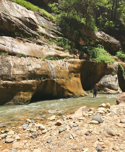 USA Road Trip 2017: Zionin kansallispuisto ja ei muuta ku jokeen vaan!
