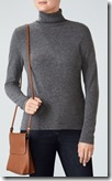 Pure Collection Cashmere roll neck sweater 25% off lots of colours