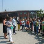 Fietsdiploma's 6de leerjaar 2016 uitgereikt door schepen Lieve Truyman