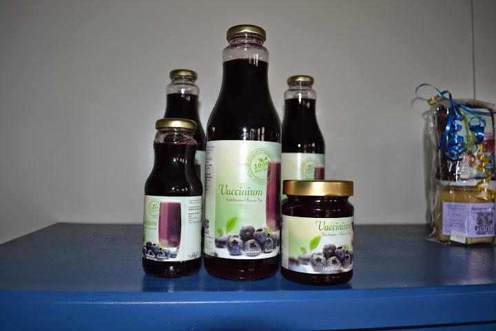 сок с голубики