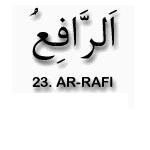 23.Ar Rafi'