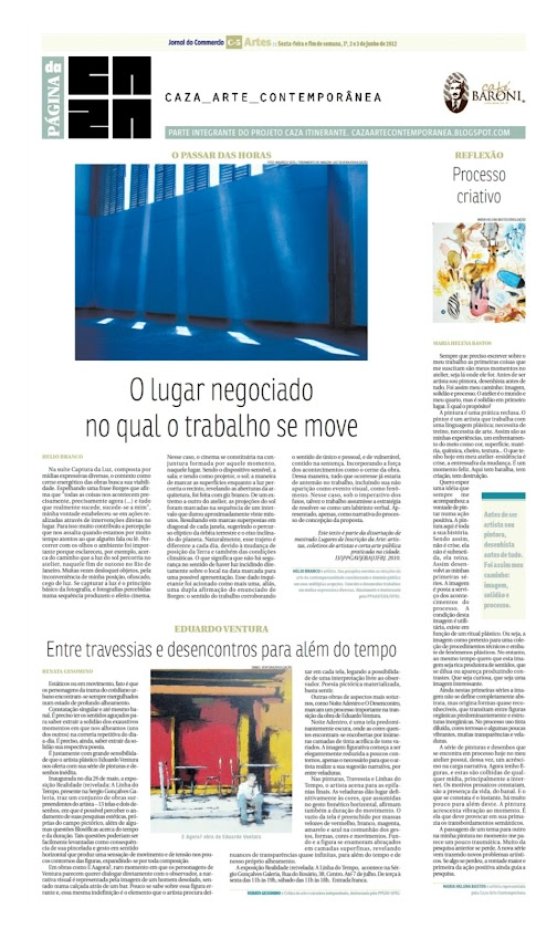 Página da Caza - 01 de Junho de 2012