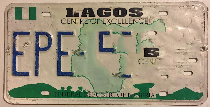 Check Out The Lagos Number Plate Abbreviation & What They Really Mean
