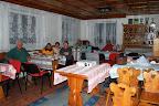 Páteční večerní posezení v klubovně rudického Sokola