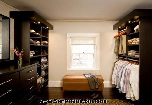 <strong><em>Thiết kế tủ quần áo</em></strong> - Phòng thay đồ-8