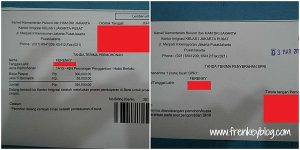 Tanda Bukti Pendaftaran Paspor Selesai Di lakukan