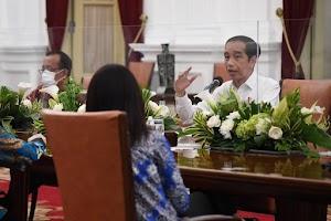 Presiden : PPKM Skala Mikro Lebih Efektif Tekan Kasus Aktif Covid-19