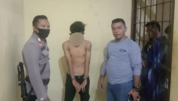 Pelaku pembunuhan di kelurahan paruga di amankan Polres Bima