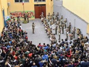 brigata Aosta presso il liceo scientifico di Messina