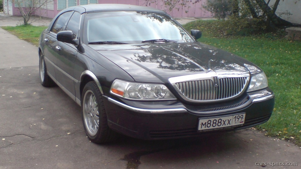 2001 Lincoln Town Car Sedan Specifications Pictures Prices