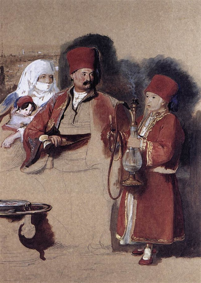 David Wilkie - Sotiri, Dragoman of Mr Colquhoun