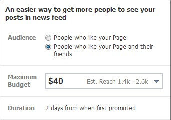 Changes in Facebook Promoted Posts