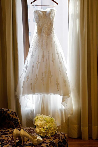 Vestido de Noiva bordado branco