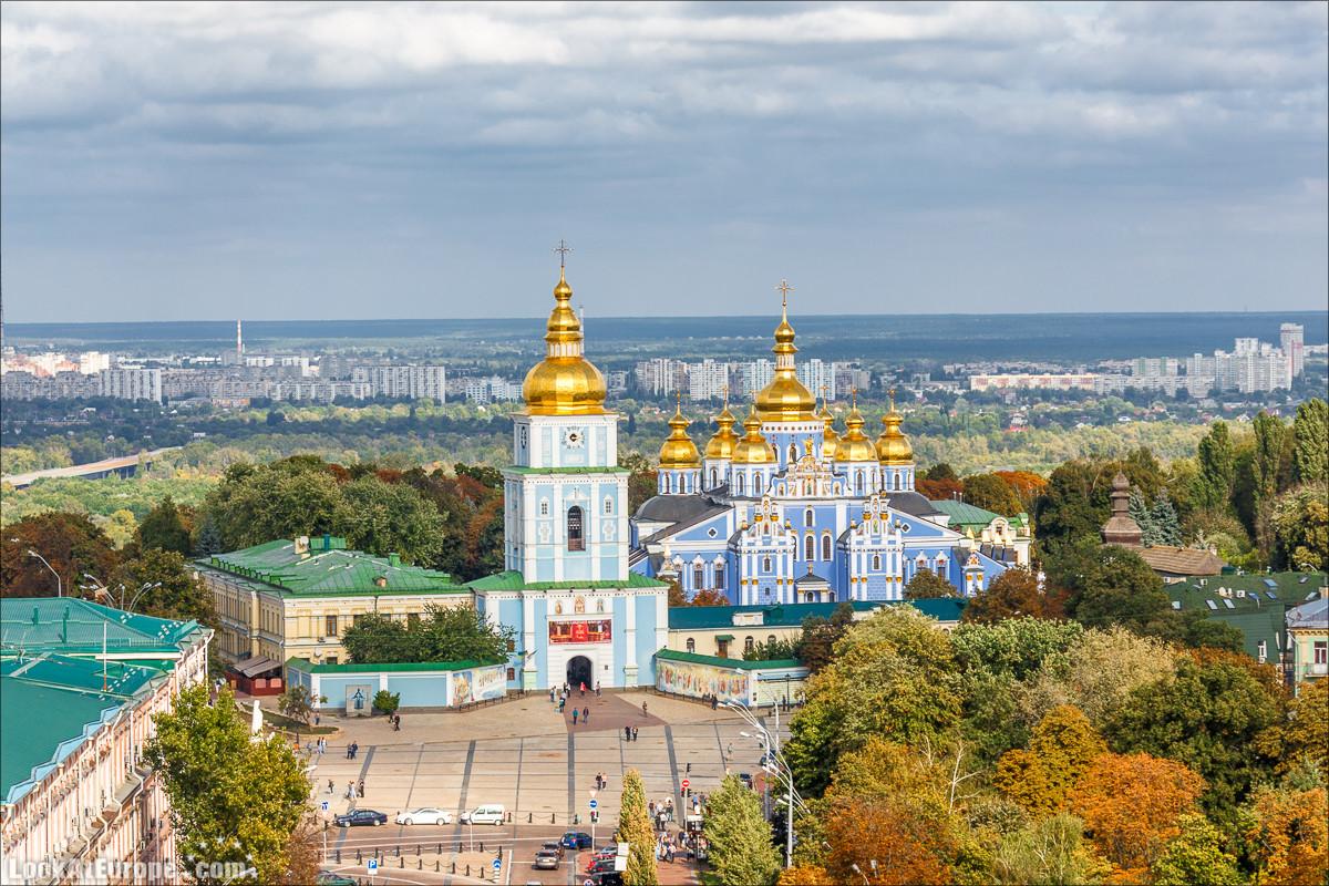 Михайловский Златоверхий монастырь в Киеве   Блог LookAtIsrael.com путешествуют по Украине