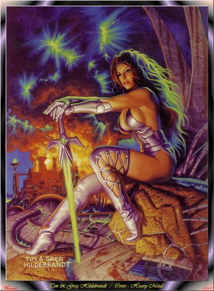 Abraxsis, Magick Warriors 4