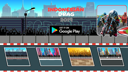 Indonesian Drag Bike : Street Racing App Download For Android 2