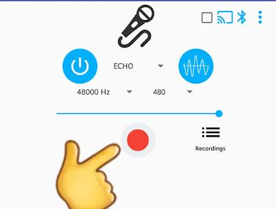 Aplikasi Mic Android Untuk Karoke tanpa lambat (delay) dan terbaik