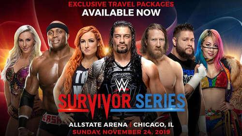 Poster Of WWE Survivor Series 24th November 2019 HDTV 480P 300MB