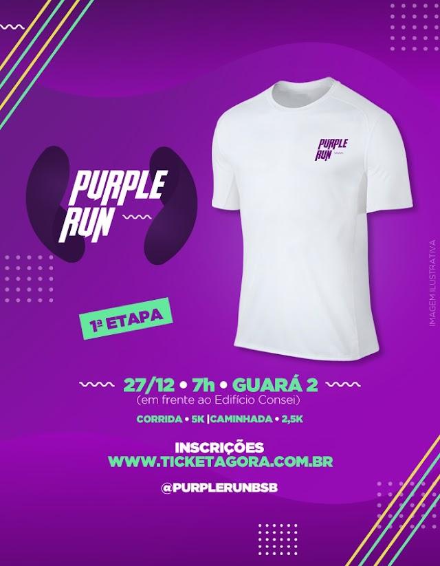 Corrida Purple Run chama a atenção para a conscientização sobre epilepsia