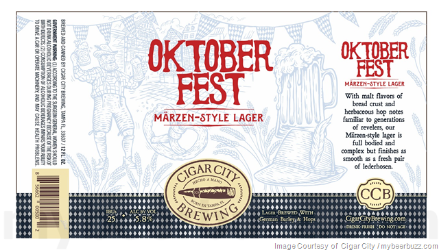 Cigar City Updating Oktoberfest Cans